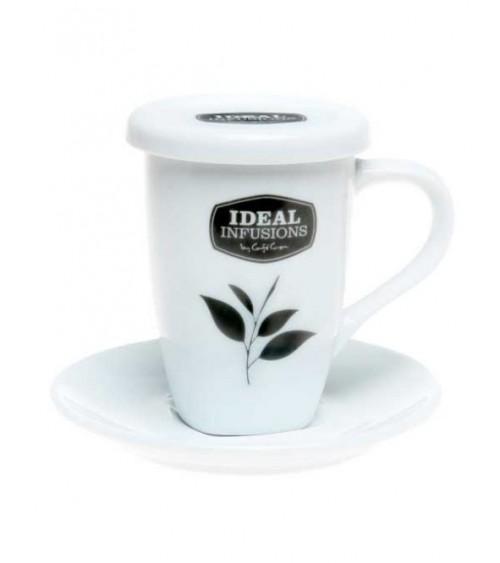 Conjunto taza de té + plato...