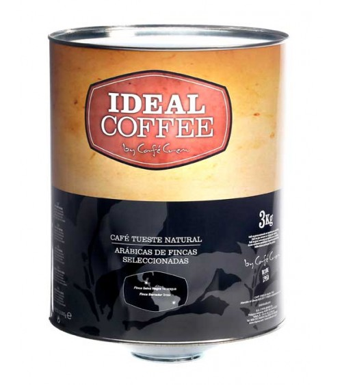 Ideal Coffee 100% Arábica Lata